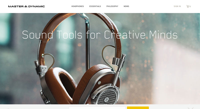 Master and Dynamic Sound Tools for Creative Minds