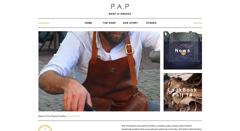 PAP Accessories Made In Sweden
