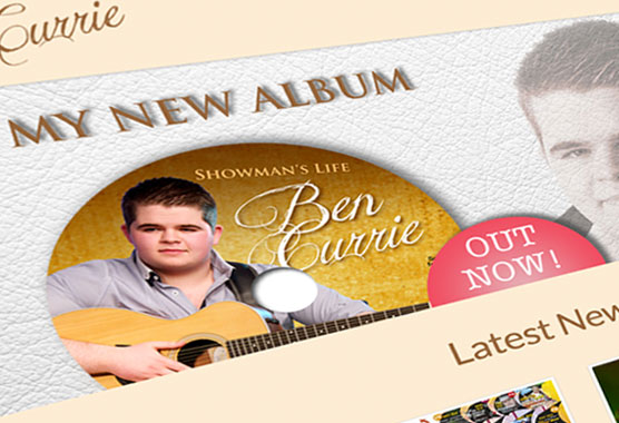 Ben Currie Music Performer, Singer & Entertainer